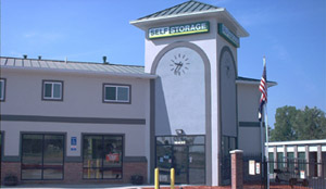Self Storage Clock Tower, Aurora, CO